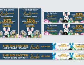 #41 for Set of Banners Needed to Promote Huge Easter Sale by owlionz786