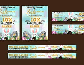 #47 for Set of Banners Needed to Promote Huge Easter Sale by owlionz786