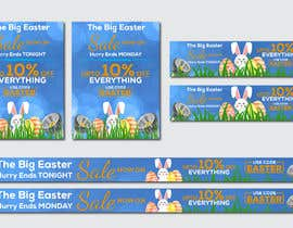 #48 for Set of Banners Needed to Promote Huge Easter Sale by owlionz786