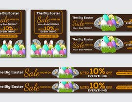 #66 for Set of Banners Needed to Promote Huge Easter Sale by owlionz786