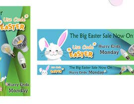 #56 for Set of Banners Needed to Promote Huge Easter Sale by DesingTent