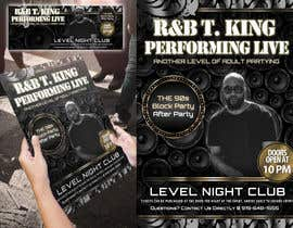 #18 for Event Flyer and matching Facebook Banner Needed for R&B/Hip Hop Artist/Singer by Attebasile