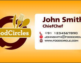 #5 для Business Card for Restaurant от jpsosa06