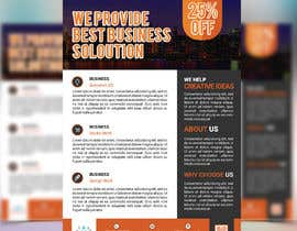 #11 for Need a one page Flyer template by emon63
