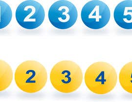 #8 for 30 min job. I have in ai 2 balls. I want them with number 1-45 to separate transparent pngs. by pinky2017