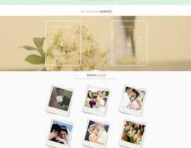 #40 para Design a Website Mockup for Event Planner Blog por bellalbellal25