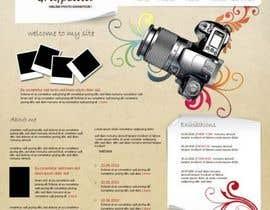 #17 para Design a Website Mockup for Event Planner Blog por Udovas