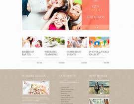 #7 para Design a Website Mockup for Event Planner Blog por xoomer