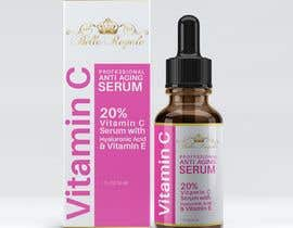 #33 for Design Vitamin C serum box design and label for me by riasatfoysal