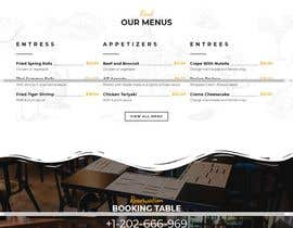 #16 for Build Me A Better Restaurant Website by GraphicsAuthor