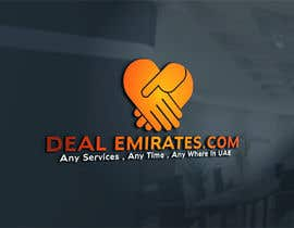 #23 for BEST 3D LOGO AND NAME FONT FOR MY COMPANY  DEAL EMIRATES.COM by mahinderpal1997