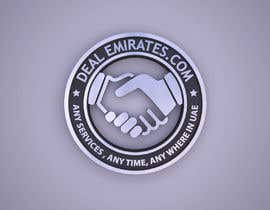 #62 for BEST 3D LOGO AND NAME FONT FOR MY COMPANY  DEAL EMIRATES.COM by zarzish