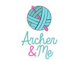 Dandesign3 tarafından I need a logo for my little insta crochet business Archer & Me (@archer.me). I crochet bits & peices for children. Im looking for a logo for my insta & facebook pages but adaptive for business cards and product tags. için no 3