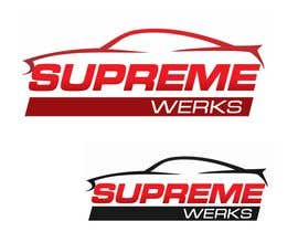 designerartist tarafından Logo Design for Supreme Werks (eCommerce Automotive Store) için no 123