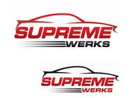 Graphic Design Contest Entry #198 for Logo Design for Supreme Werks (eCommerce Automotive Store)