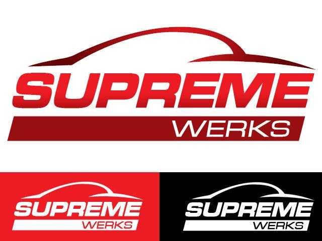 Конкурсная заявка №90 для Logo Design for Supreme Werks (eCommerce Automotive Store)