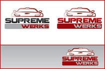 Graphic Design Contest Entry #174 for Logo Design for Supreme Werks (eCommerce Automotive Store)