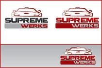 Graphic Design Конкурсная работа №174 для Logo Design for Supreme Werks (eCommerce Automotive Store)