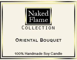 #17 para Design a Logo for Naked Flame Collection to Label Candle Votives -- 2 por arjungurung47