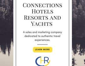 "Nro 1 kilpailuun Header - ""Announcing the launch of Connections Hotels Resorts and Yachts"" . One evocative image (I welcome suggestions or I will provide) and copy with contact details for click through (again, welcome suggestions or I can provide) www.connectionshry.com käyttäjältä DivaGupta"