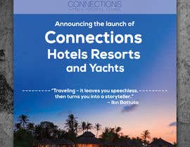 "#7 for Header - ""Announcing the launch of Connections Hotels Resorts and Yachts"" . One evocative image (I welcome suggestions or I will provide) and copy with contact details for click through (again, welcome suggestions or I can provide) www.connectionshry.com by colorgraph"