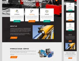 #16 for Website design for a company selling and service Hydraulic parts by yasirmehmood490