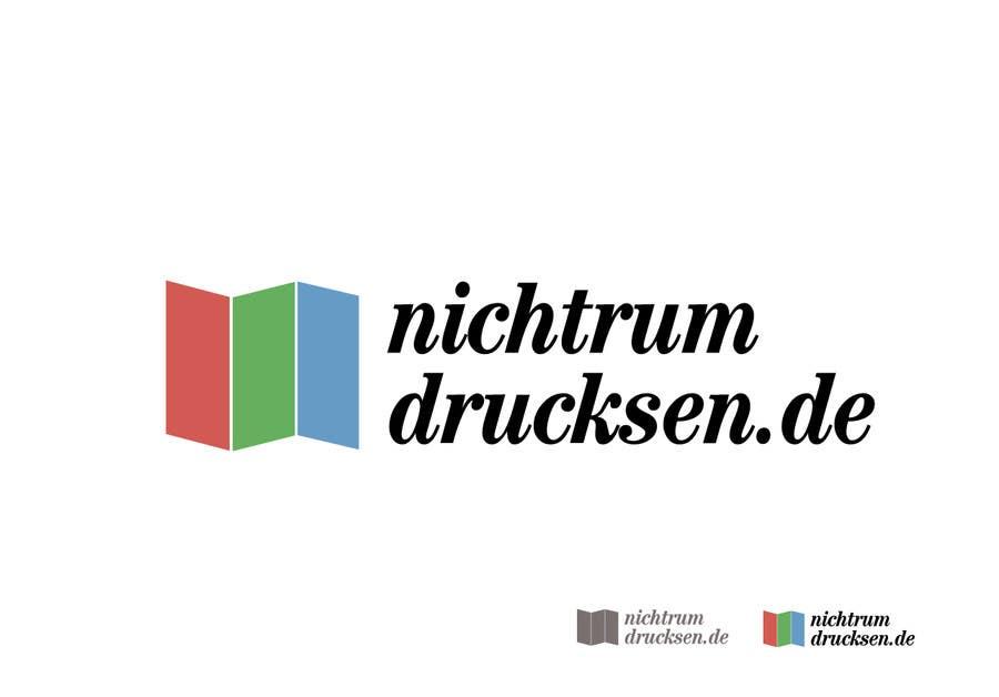 Konkurrenceindlæg #673 for Logo Design for nichtrumdrucksen.de