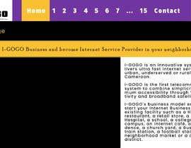 #3 for Design a Website Mockup by Razz514