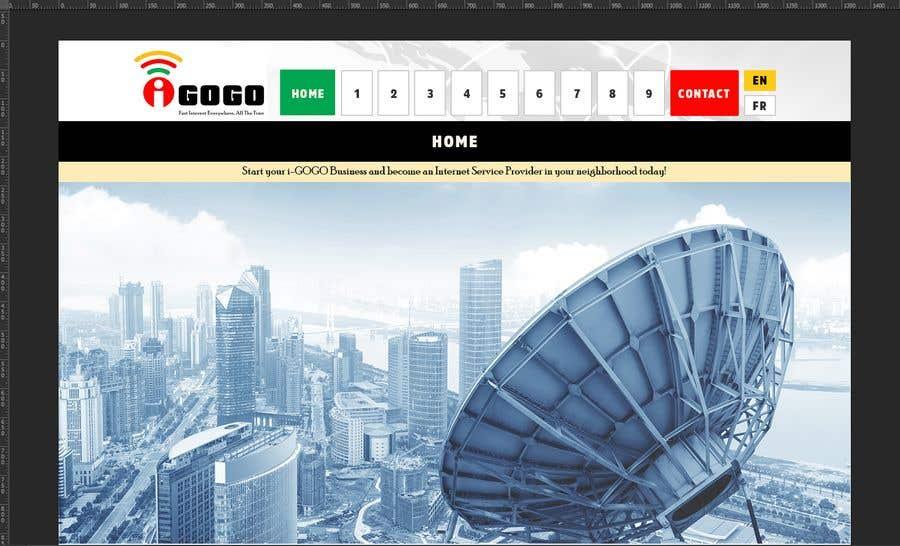 Contest Entry #11 for Design a Website Mockup