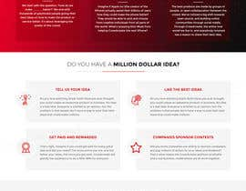 #30 para Blockchain and Cryptocurrency IDEA Platform Website Landing Page por tamamanoj