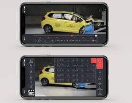 #12 untuk Design a mockup for a industrial camera control app oleh blackdahlia24