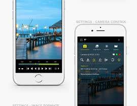 #17 untuk Design a mockup for a industrial camera control app oleh Creoeuvre