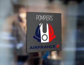 #4 for Make a logo for FIREFIGHTERS ( Air France, AIRPORT ) by dorathlmnr