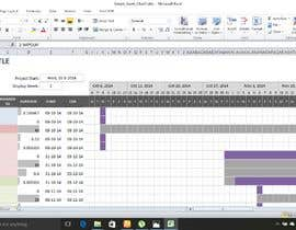 #11 untuk excel sheet to gath chart with colourfull presentaion oleh rahathossenmanik