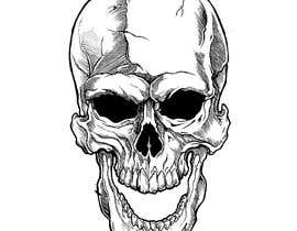 #63 for Illustrate a Skull with a Detail by Rotzilla