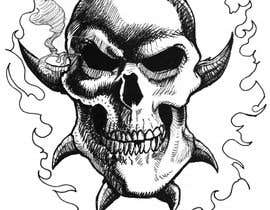 #67 for Illustrate a Skull with a Detail by thunderbirdart