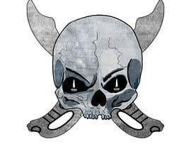 #49 for Illustrate a Skull with a Detail by ouahab