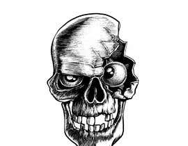 #13 for Illustrate a Skull with a Detail by fabianmarchal