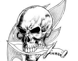 #52 for Illustrate a Skull with a Detail by hmimadlanouz