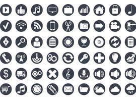 Nro 4 kilpailuun Create an icon set käyttäjältä Talentenglish