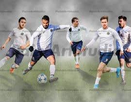 nº 33 pour EASY & SIMPLE:  one football image / banner / poster par Shtofff