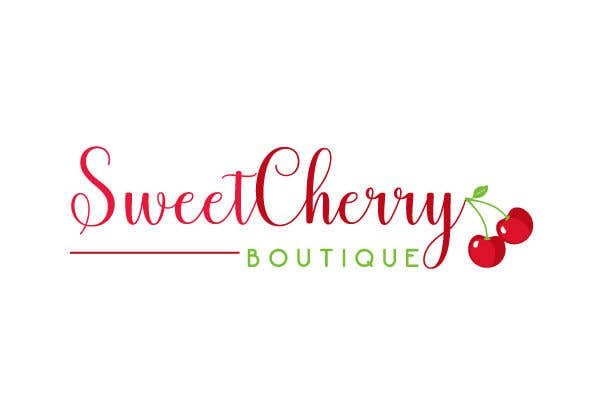 Contest Entry #20 for Hi! I need a logo designed please for my baby clothes/home made baby products business. The business name is: Sweet Cherry Boutique. I would like an image of a cherry somewhere in the logo please.