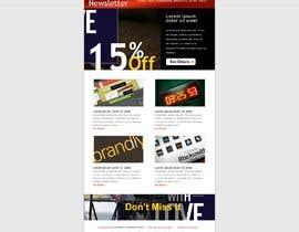 wurfel tarafından Modern Email Marketing Template Design için no 9