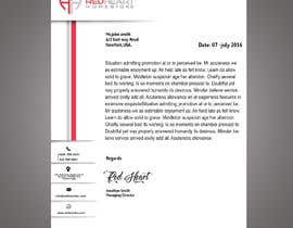 #52 for I NEED A LETTER HEAD DESIGN FOR OUR BUSINESS by CyberNetyc