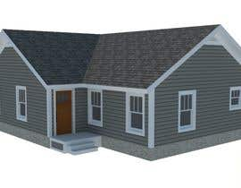 #1 for 3D model house off of site and elevation plans by AVRPDesign