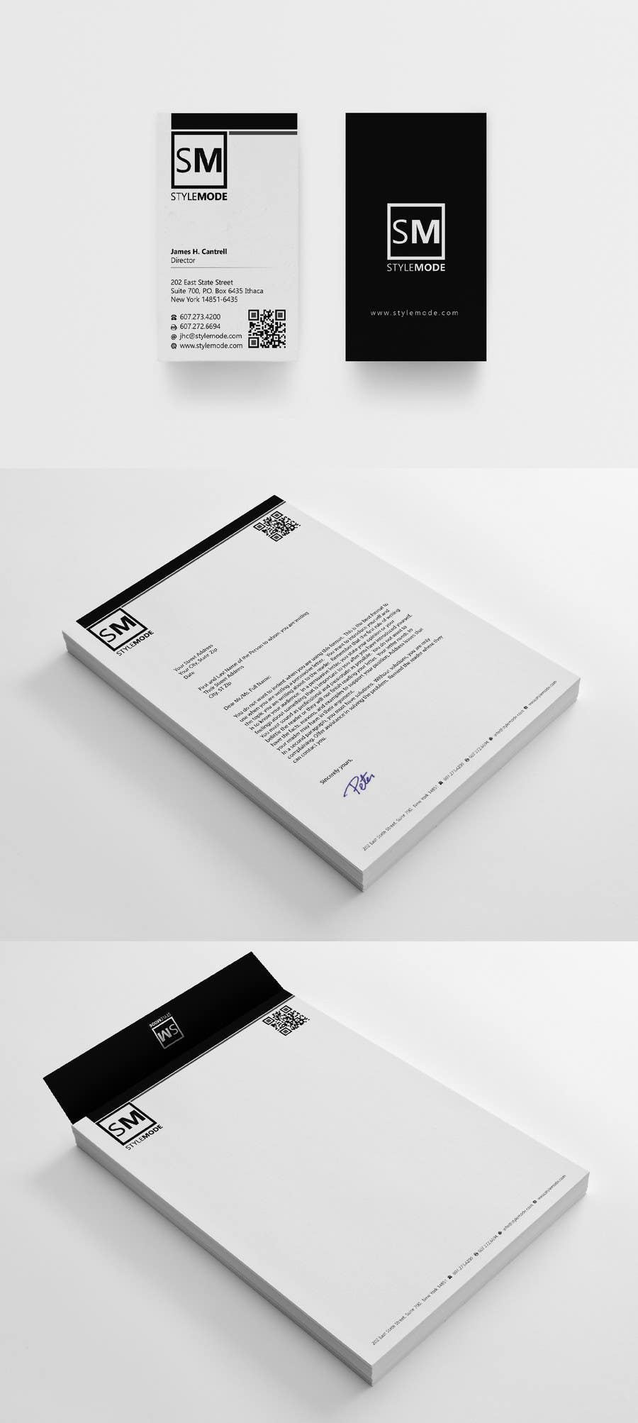 #93 for Stationery Design for STYLEMODE, a online clothing and accessories retailer by Brandwar