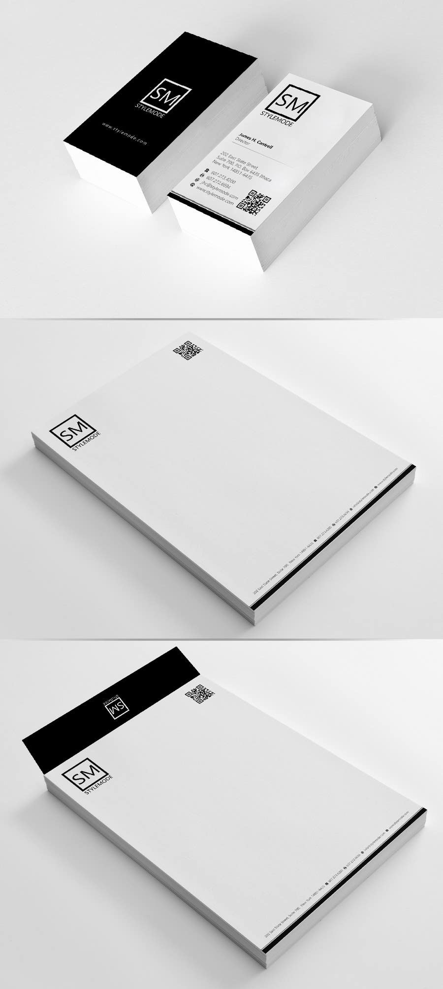 #46 for Stationery Design for STYLEMODE, a online clothing and accessories retailer by Brandwar