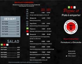 Nro 30 kilpailuun Concevez un flyer de restaurant käyttäjältä mustjabf