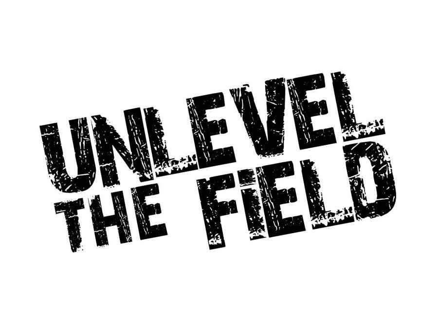 Inscrição nº 280 do Concurso para UNLEVEL THE FIELD - Re-Do Graphic for Sports Company