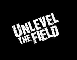 #308 para UNLEVEL THE FIELD - Re-Do Graphic for Sports Company por mrblaise